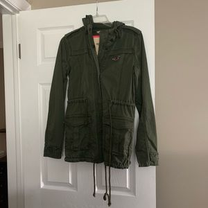 Hollister Co army jacket